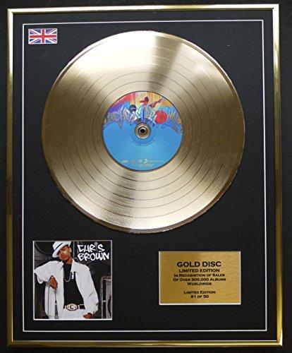 CHRIS BROWN/Goldene Schallplatte Record Limitierte Edition/CHRIS BROWN