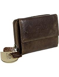 3f92cc707e29f Echtleder Geldbörse   Aufschrift WILD REAL ONLY!!!   Zweiteilung –  praktische Eleganz   Büffelleder braun hochwertig   ca.10x13x4cm…