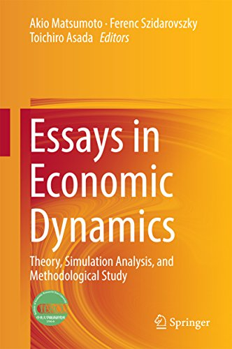 Essays in Economic Dynamics: Theory, Simulation Analysis, and Methodological Study (English Edition)