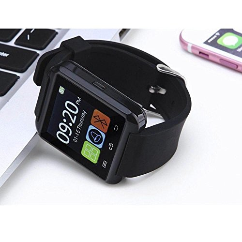 MacBerry-Apple-iPhone-6S-Compatible-Latest-U9-Bluetooth-Smart-Watch-Random-Color