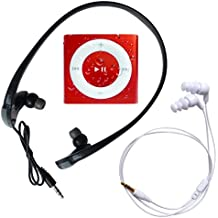 Underwater Audio - iPod Shuffle Impermeable y Sumergible (Waterproof iPod), Paquete Grande tiene Auriculares Swimbuds y HydroHarmony (Rojo)