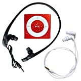 Underwater Audio - Wasserdichter iPod Shuffle (Rot), Mega Bündel mit Swimbuds und HyrdoHarmony Wasserdichte Kopfhörer