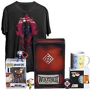 WOOTBOX Versus - Caja de Regalo - World of Warcraft - Iron Pokémon - One Punch Man - Talla WTB-2019-004-FR-00H-000M-000, Rojo