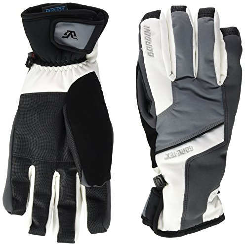 Gordini Herren Handschuhe Challenge XIII Men's, White/Gunmetal, M, 4G1060