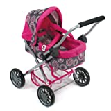 Bayer Chic 2000 555 87 - Kuschelwagen Smarty, hot pink pearls