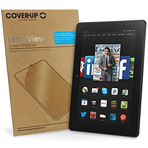 Cover-Up UltraView Anti-Glare Matte Screen Protector for Amazon Kindle Fire HDX 8.9 (8.9