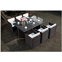 Amazon.fr : APOLLINE - Salons de jardin / Mobilier de jardin : Jardin