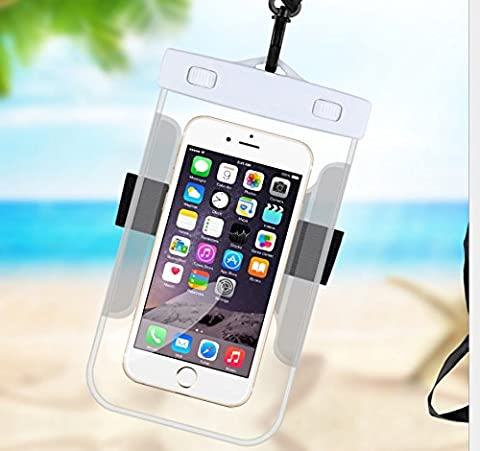 Omeny Coque étanche Dry Bag Étui téléphone portable pour kayak Ski Luge Bateau Surfer sur Internet