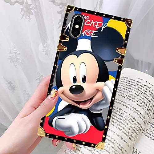 Disney Collection Schutzhülle für iPhone X (5,8 Zoll / 5,8 Zoll), Donald Duck, stoßfest, Smile Mickey - Womans Day Collection