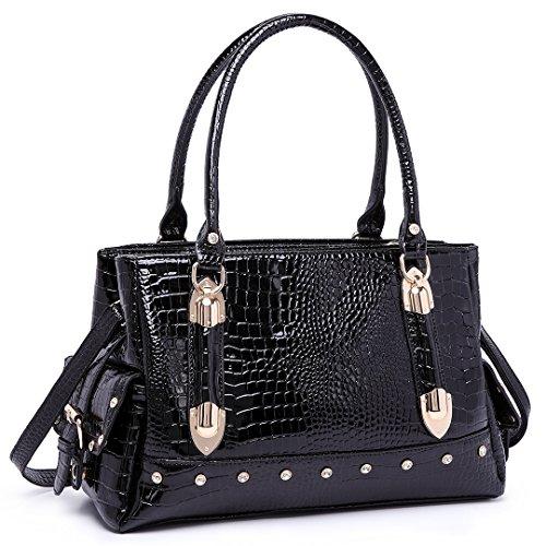 Tienda Online Miss Lulu - Sacchetto donna 6642 Black Límite De Oferta Barata Comprar Barato Paquete De Cuenta Regresiva 9rDOi