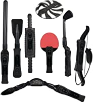CTA Nintendo Digital Sports Resort 8-in-1 Sports Pack (Black)
