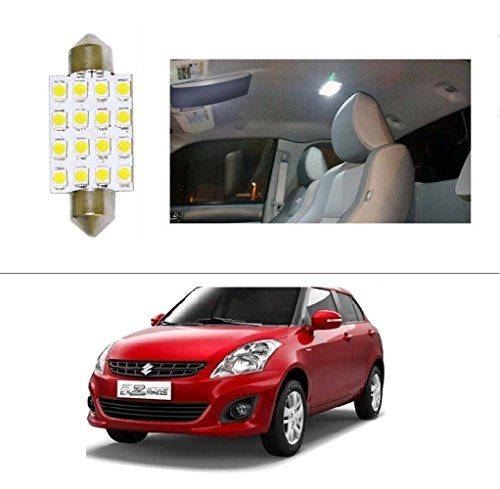 AutoStark 16 LED Roof Light Car Dome Light Reading Light For Maruti Suzuki Swift Dzire (New)  available at amazon for Rs.99