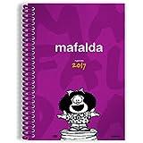 Ediciones Granica Mafalda Anillada - Agenda 2017, color rosa