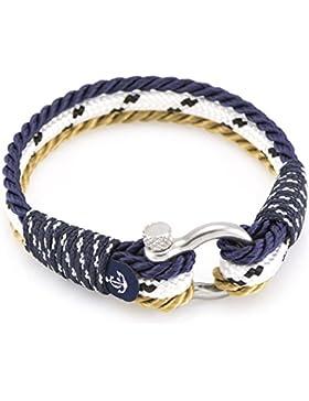 CONSTANTIN NAUTICS Armband 4036# Modeschmuck Herren Damen Maritim Freundschaftsarmband aus Segeltau Paracord