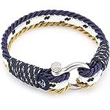 Constantin Nautics Armband 4036 Modeschmuck Herren Damen Maritim Freundschaftsarmband aus Segeltau Paracord 19 cm