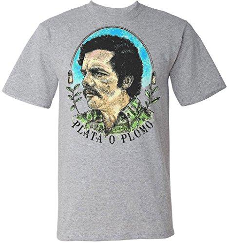 plata-o-plomo-pablo-escobar-portrait-mens-t-shirt-large
