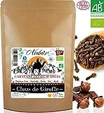Chiodi di garofano BIO di Madagascar 100 Gr ⭐ Nabür ⭐ Cucinare, Infusione, Ricco di Olio Essenziale
