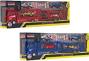 Globo Toys Globo 35844 - Carretilla de Coche con luz y Sonido, 2 Colores, diseño de Spidko Try-Me