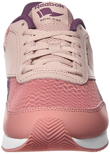 Reebok Damen Royal Classic Jogger 2 Sneaker Violett (Grey Sandy Rose/shell Pink/washed Plum/white)