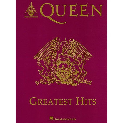 Queen: Greatest Hits (Guitar Recorded Versions). Partitions pour Tablature Guitare