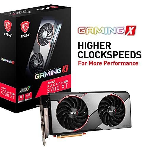 MSI Radeon RX 5700 XT GAMING X Grafikkarte 8GB GDDR6, PCIe 4.0, Aura Sync, Radeon FreeSync, HDMI, DisplayPort