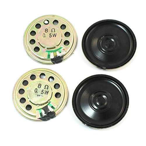 4Pcs Reemplazo 30mm Interior Imán Mini DVD EVD Altavoz