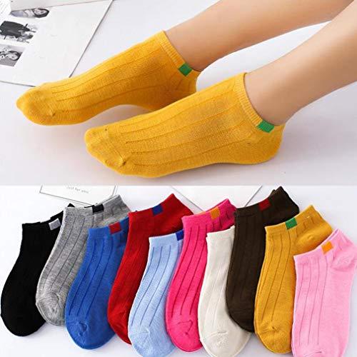 MCYs 1 Pairs Men's Socks 1Pair Unisex Comfortable Stripe Cotton Sock Slippers Short Ankle Socks