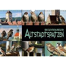 Regensburger Altstadtspatzen (Wandkalender 2018 DIN A4 quer): Spatzen abgelichtet in einer historischen Stadt (Monatskalender, 14 Seiten ) (CALVENDO Tiere)
