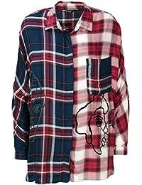 Amazon.fr   Desigual - Chemisiers et blouses   T-shirts, tops et ... 61175824b12b