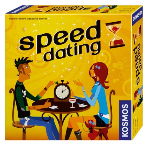 KOSMOS Speed Dating Spiel Gesellschaftsspiel Liebe brettspiel Flirten Kennenlernen NEU