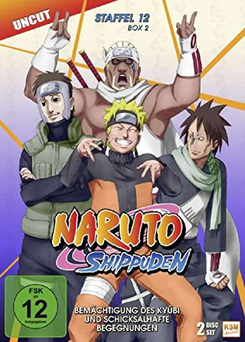 Naruto Shippuden - Staffel 12 - Box 2 (Episoden 488-495, Uncut) [2 Disc Set] Uncut-box