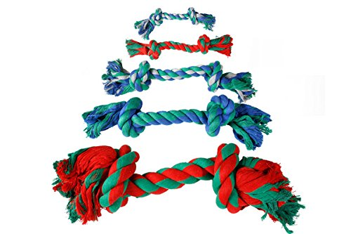 Hundespielzeug: Baumwollknoten BUNT 22cm #507309 - 2