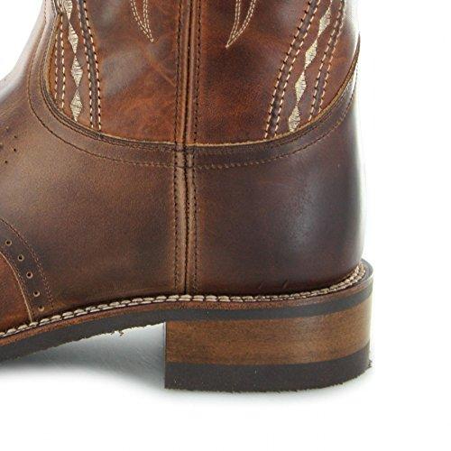 Marron Sendra Brauner Sendra Westernreitstiefel Herrenstiefel Thinsulate mit Stiefel 14339 Tang Boots Desna Isolierung wqwX7RU