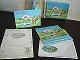 8 Einladungskarten Kindergeburtstag / Kinder Geburtstag Fantasy Einhorn (mit Umschläge)