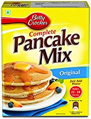Betty Crocker Pancake Mix | Instant Breakfast Mix | Waffles and Pancake Mix Powder | Original Flavour | Eggles