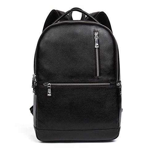bostanten-leather-backpack-rucksack-shoulder-school-college-travel-laptop-bag-for-men-medium-black