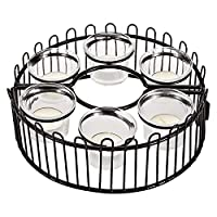 Harmony Metal Base With Glass Holder And Tealight