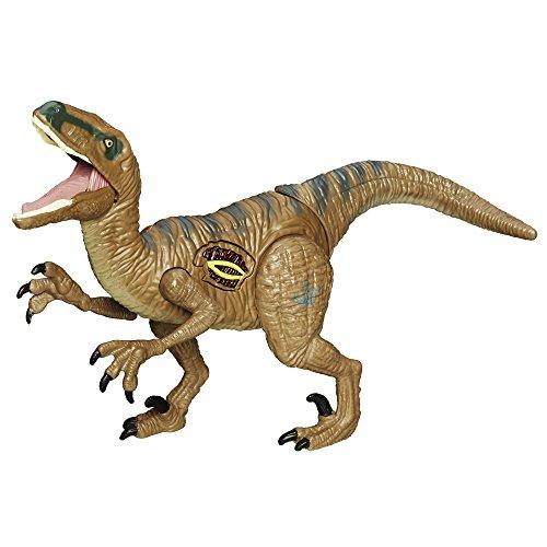 Jurassic World Velociraptor Delta - bewegliche Saurier mit Funktionen