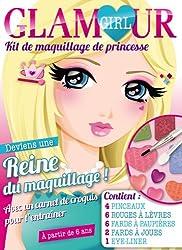 Glamour Girl, kit de maquillage de princesse : Deviens une reine du maquillage ! Avec un carnet de croquis pour t'entraîner