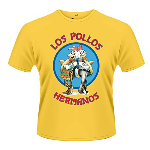 Plastic Head Men's Breaking Bad Los Pollos Short Sleeve T-Shirt