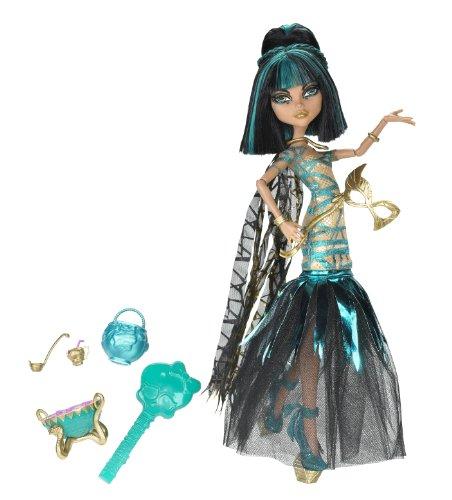 (Mattel X3718 - Monster High Halloween Cleo, Puppe)
