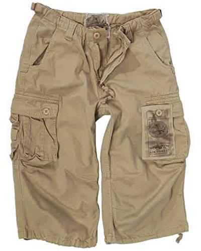 air-combat-3-4-jeans-pantalons-prelavage-kaki-kaki-xxl