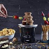 Princess Schokoladenbrunnen - für jede Schokolade und Karamell mit Schmelz- und Fließfunktion, 292994 - 3