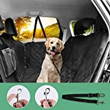 LOETAD Autoschondecke Wasserdicht Auto Hundedecke Kofferraumschutz für Hunde Rücksitz Schützt Ihr Auto vor Schmutz (Verpackung MEHRWEG)