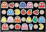 Pack Of Assorted Retro Aracade Game Pac Man Fridge Magnets