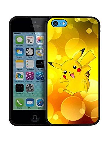 Pokemon Pikachu Iphone 5c Coque Case Silikon Game Pokemon Pikachu Iphone 5c Étui pour téléphone Pokemon Pikachu Fit for Iphone 5c