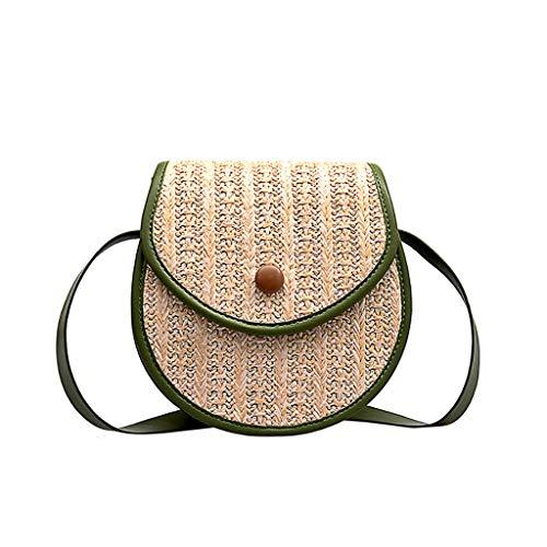 Mitlfuny handbemalte Ledertasche, Schultertasche, Geschenk, Handgefertigte Tasche,Frauen-Stroh-Strandtasche, die kleine quadratische Taschen-Schulter-Kuriertasche näht