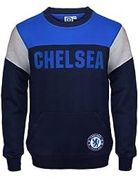 Chelsea FC - Sudadera oficial para niño - Con el escudo del club