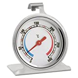 Weis 15304 Thermomètre Four Acier Inoxydable Argent 6,5 x 6,5 x 8 cm...