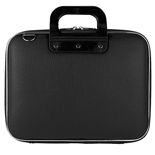 Premium PU Leder Messenger Tasche Hart Schale Schutz, der Fall für HP EliteBook/Lenovo IdeaPad/Acer Aspire/Toshiba/Asus Chromebook/Apple MacBook Pro 38,1 cm 39,1 cm 39,6 cm Laptops